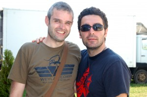 Stéphane Leroux et Julien Maury en Bulgarie
